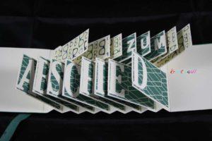 Stampin`up!, Verabschiedungskarte