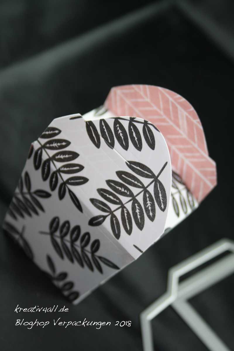 Schnelle Big Shot Mini-Verpackung mit Stampin`Up! Produkten