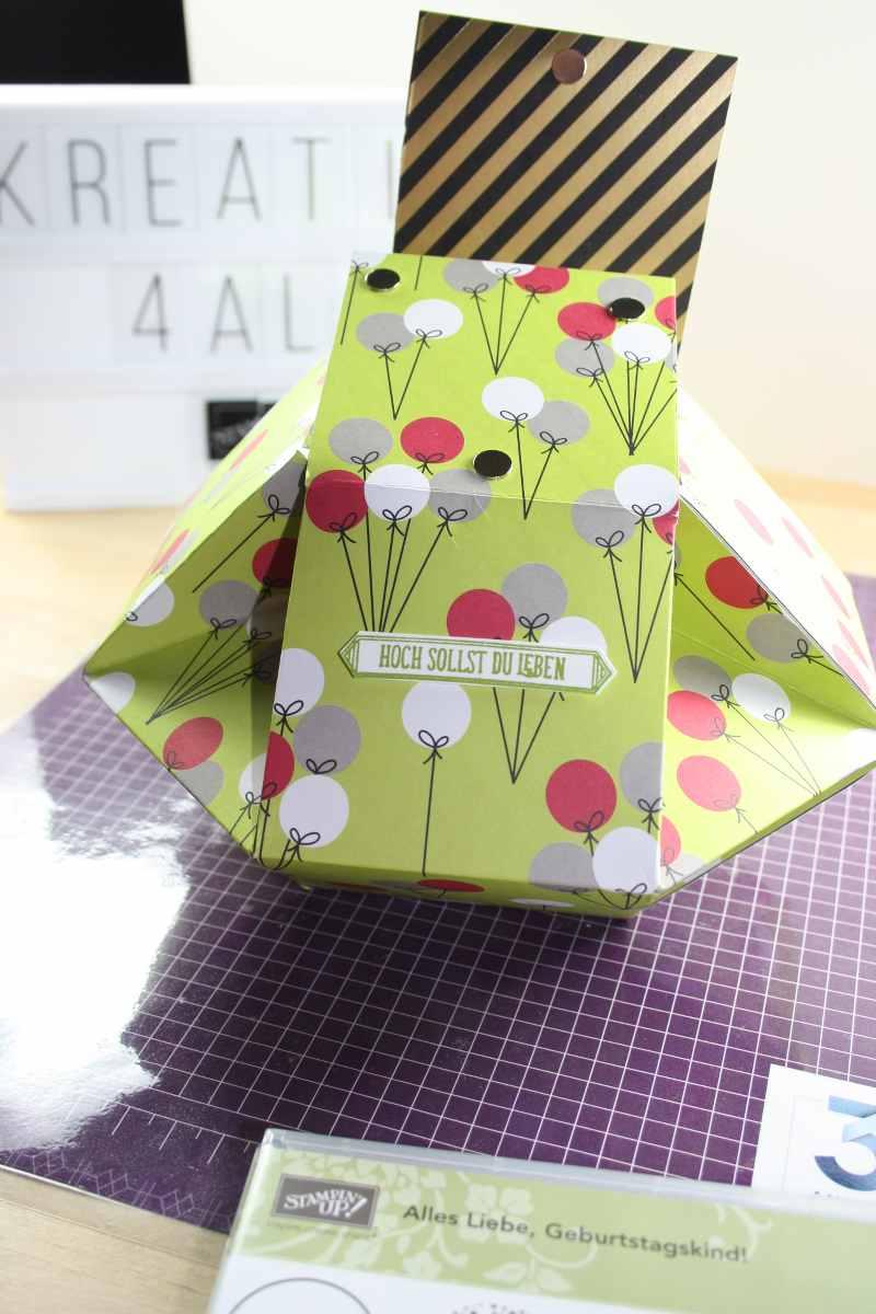 Lieblingsverpackung für Gummibären mit Geldscheinkarte